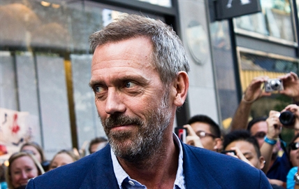 Hugh Laurie is starring in