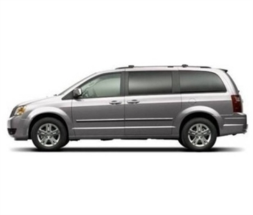 Etchart was driving a van looking similar to this 2009 Dodge Caravan.