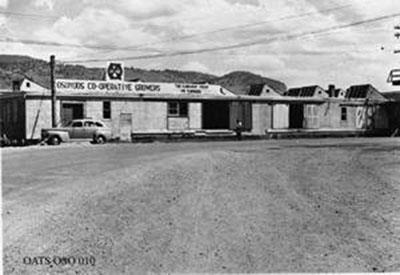 The Osoyoos packinghouse in 1945.
