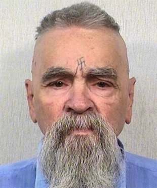 This Oct. 8, 2014 photo shows Charles Manson.
