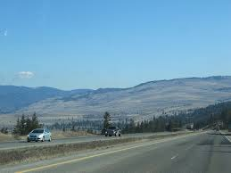 A driver's perspective of Highway 97-C, the Okanagan Connector.