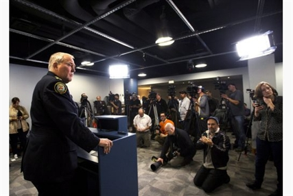 Police Chief Bill Blair confirmed that Toronto police have recovered the