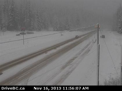 Rogers Pass on Saturday, Nov. 16, 2013