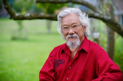 David Suzuki is a scientist, broadcaster, author and co-founder of the David Suzuki Foundation.