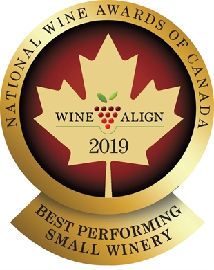 The Best Performing Small Winery in Canada is Moon Curser Vineyards in Osoyoos
