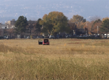 RCMP relocated the vehicle to a field near Springfield Road for safety reasons.