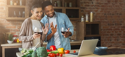 Virtual wine dinners are such a fun way to connect with your family and friends during isolation.