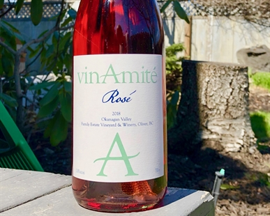 vinAmité Cellars Rosé blend has been released just in time for Easter.