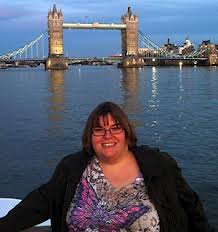 Rhonda Bergen during her dream vacation in the United Kingdom.