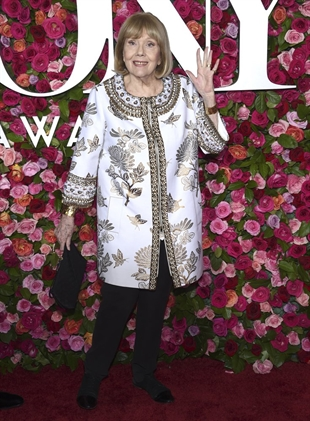In this June 10, 2018 file photo, Diana Rigg arrives at Tony Awards.