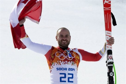 Canada's Jan Hudec won bronze in the men's super-G Sunday, Feb. 16, 2014 at the Sochi Winter Olympics. The medal ended Canada's 20-year podium drought in alpine skiing.