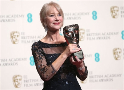 Dame Helen Mirren was bestowed with the British Academy Fellowship award in honour of her distinguished career.