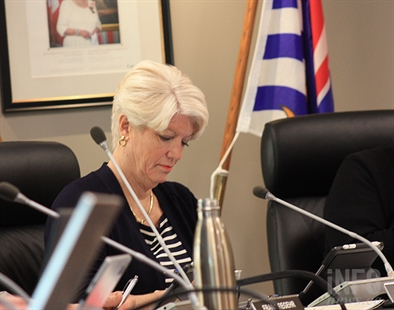Penticton city councillor Katie Robinson is pictured in this undated file photo.