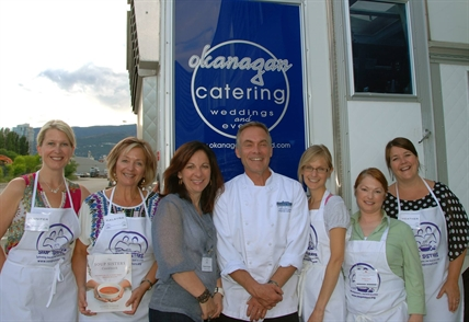 Kelowna Soup Sisters original crew with our founder.