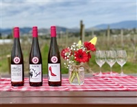 The View Winery offers two delicious rosés both now in green glass to preserve their freshness and vitality.