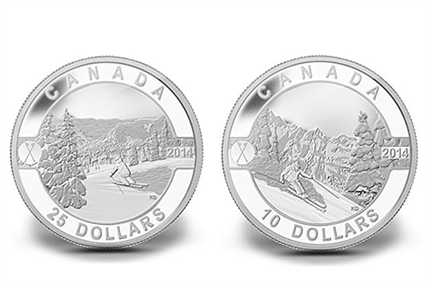 The Canadian Mint's 2014 silver collector's series, O' Canada, will feature the work of Kelowna artist Kendra Dixson.
