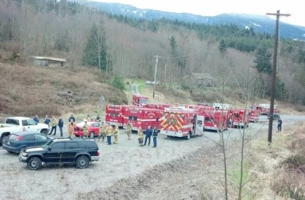 Snohomish County fire crews and the Washington State Patrol continue search and rescue operations.