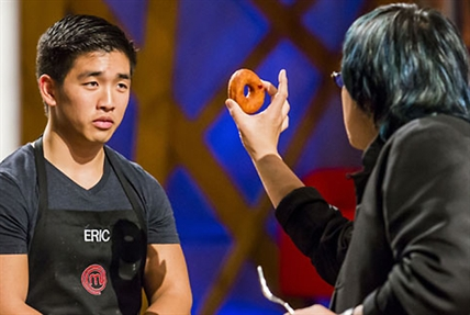 Kaila's main rival, Eric Chong, was almost eliminated because of overconfidence in the pressure challenge.