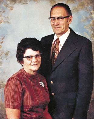 Murder victims Edith and George Bentley.