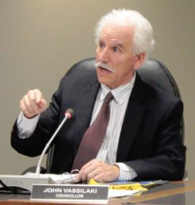 Coun. John Vassilaki is also challenging for the Mayor's position.