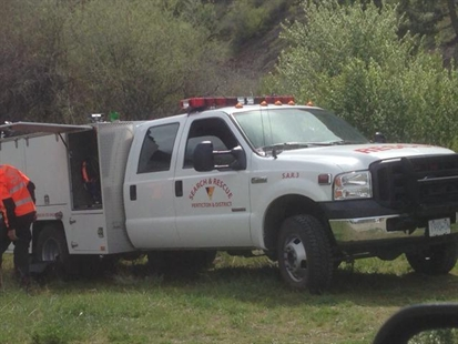 Volunteers from the search and rescue groups in Penticton and Oliver recovered a body from the Okanagan River Friday, April 25, 2014.