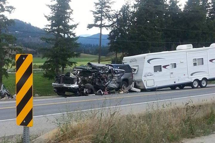 Old Ambulance For Sale >> UPDATE: Two crashes snarl traffic on TransCanada near Salmon Arm - InfoNews