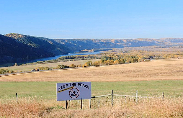 Site C dam not clean, not green, not economical and not in