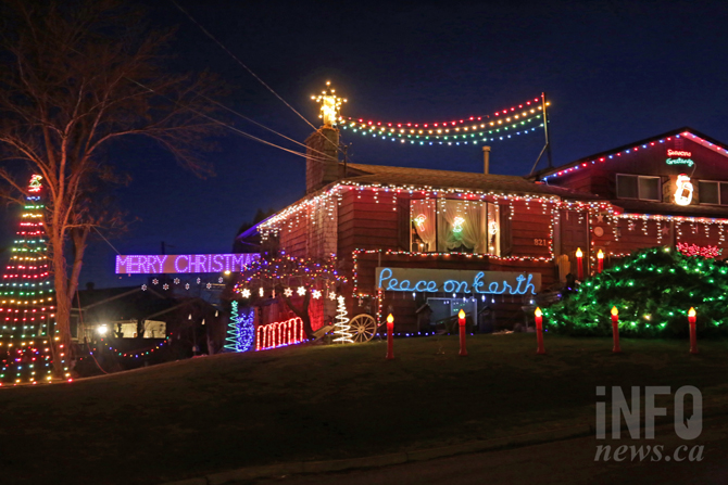 Map Where To See The Best Christmas Lights In Kamloops