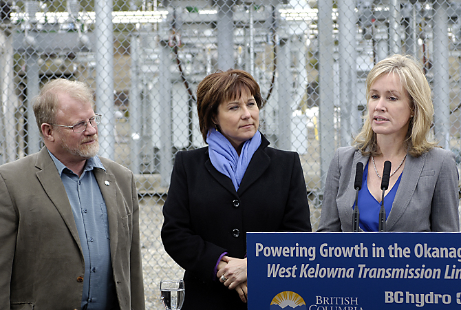 Backup power line coming to West Kelowna but not anytime