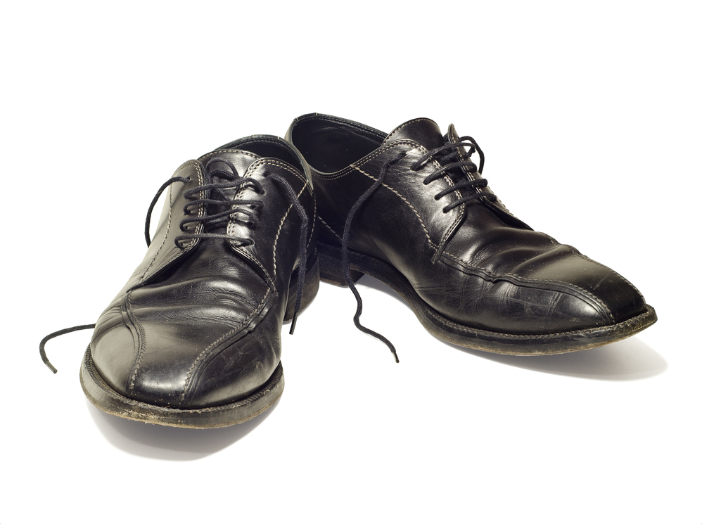 Finance Minister New Shoes