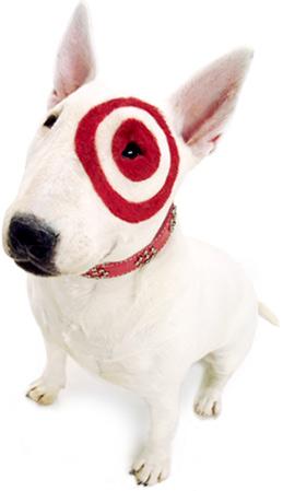Target Dog Stuffed Animal