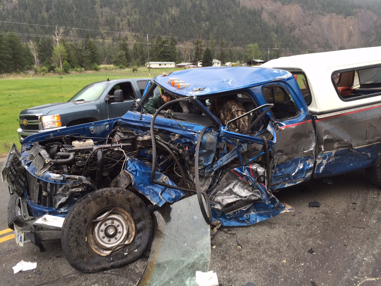 Car Accident Near Hope Bc