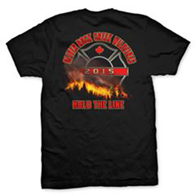 Commemorative Shirts To Remember 2015 Wildfire Season In South