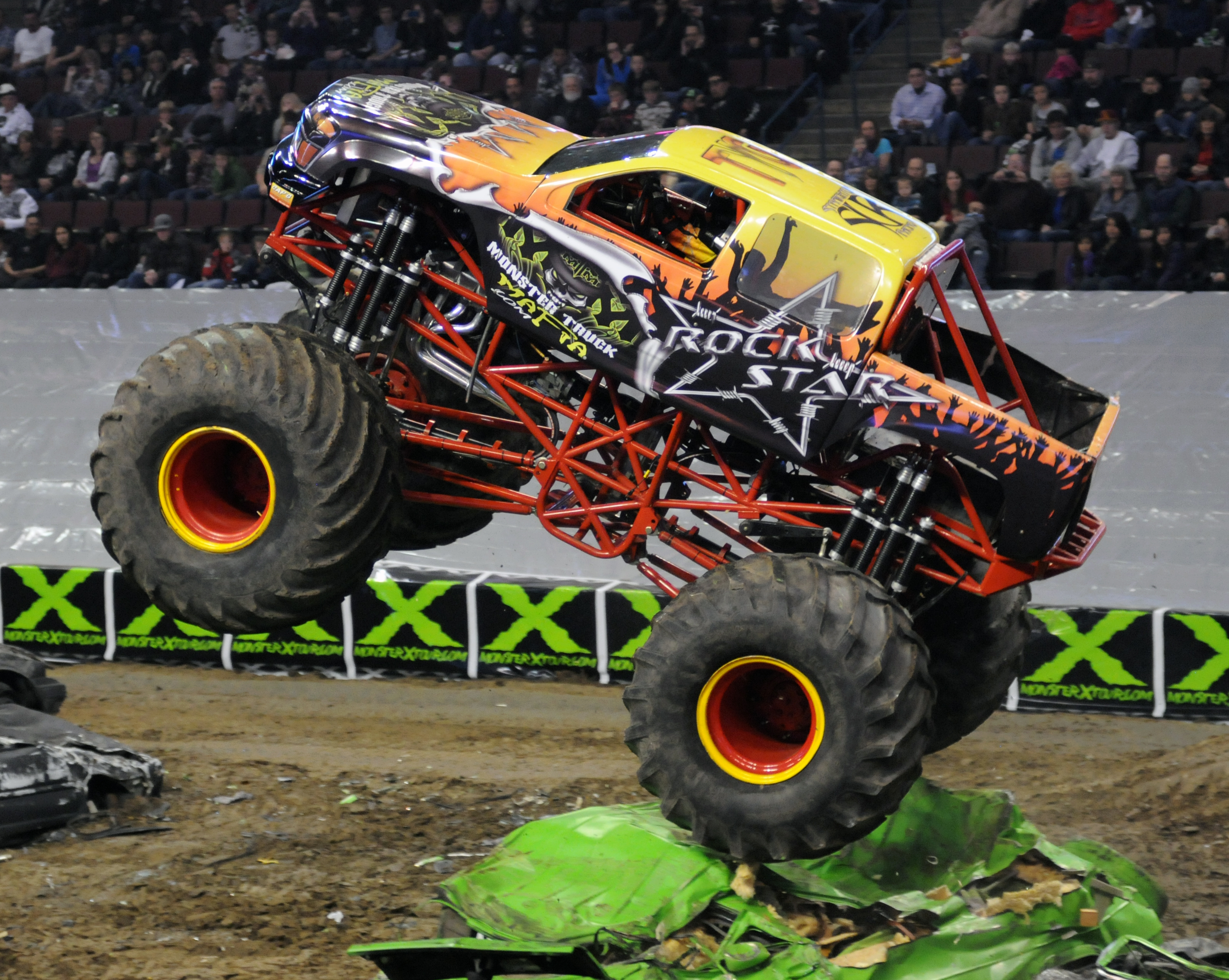 Monster trucks will be roaring into Prospera Place in Kelowna early next year as part of the Traxxas Monster Truck Tour