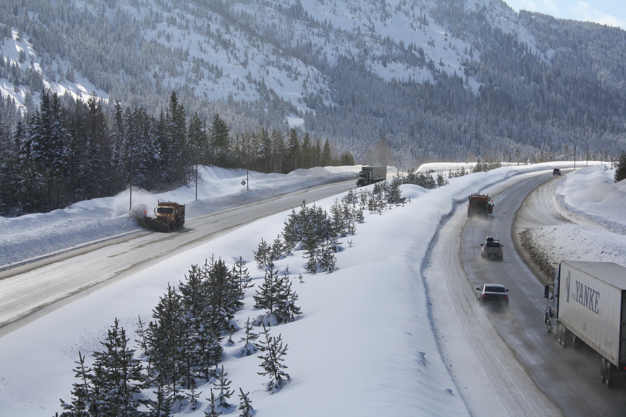 Winter road conditions challenging drivers in Southern ...
