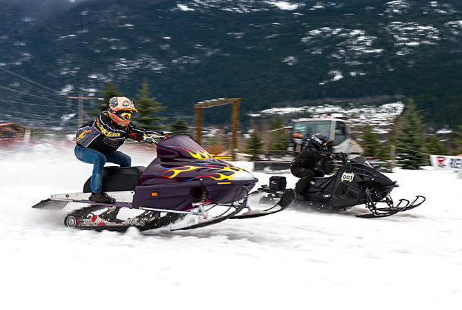 Snowmobile drag racing coming back to Revelstoke - InfoNews