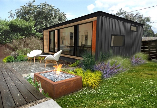 Living In A Tin Can Shipping Container Homes Come To