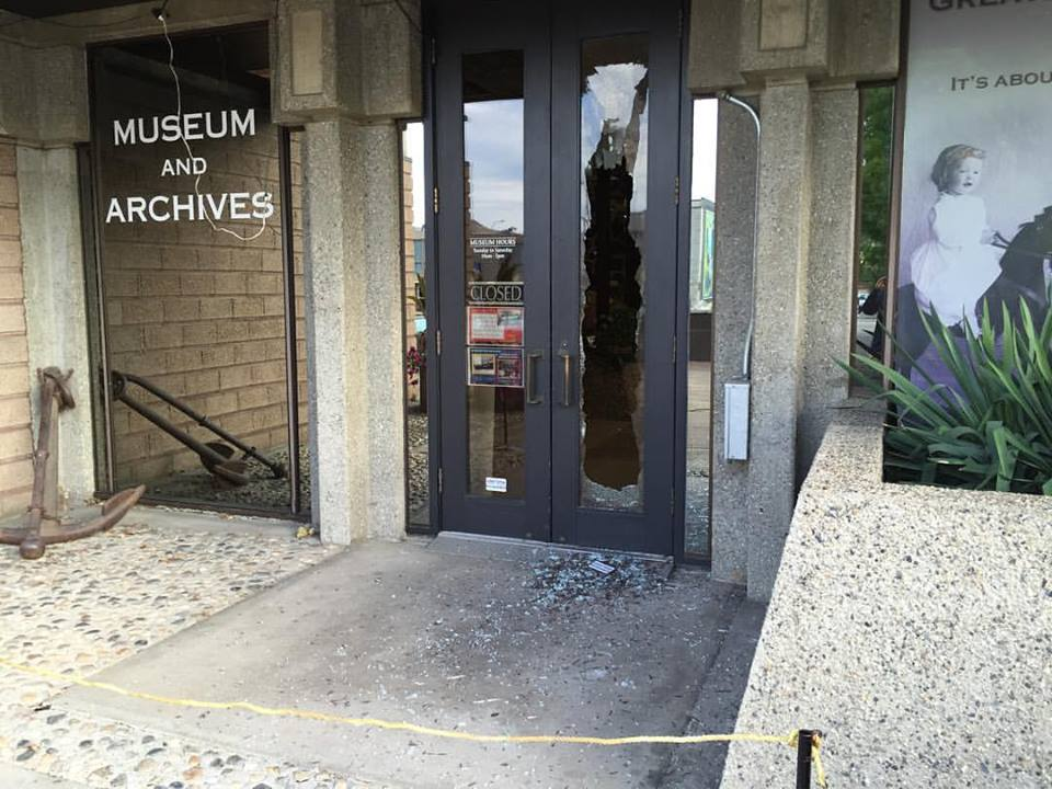 Second Incident This Month At Vernon Museum Leaves Front