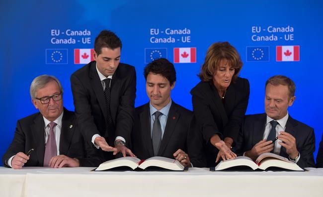 Trudeau Says Work Is Just Beginning On Canada Eu Free Trade Deal