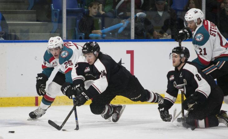 Rockets defeat Vancouver Giants 6-4 - InfoNews