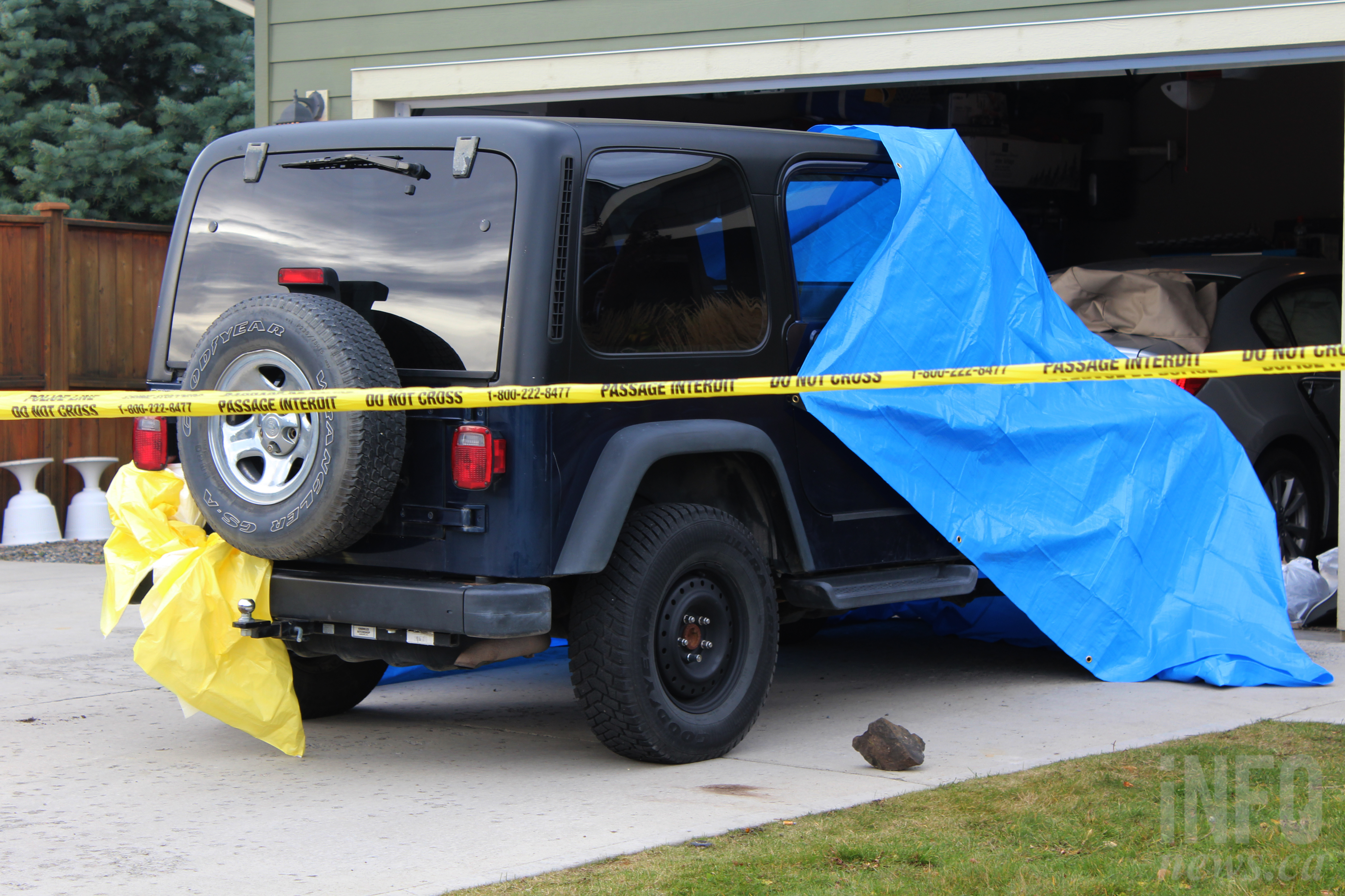 hit and run kamloops rcmp says finding suspect is top priority infonews. Black Bedroom Furniture Sets. Home Design Ideas