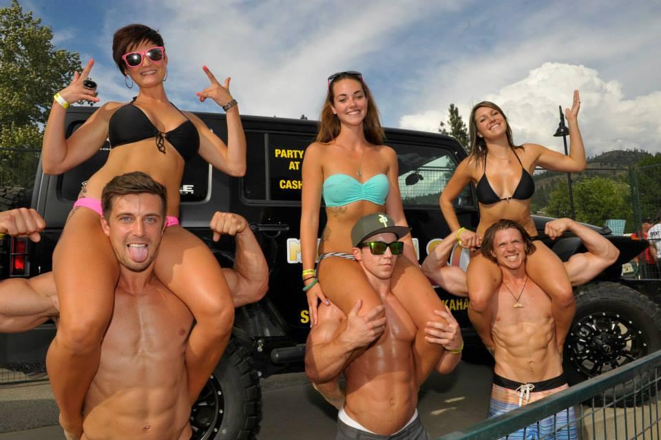 Bikini beach party contest — img 14