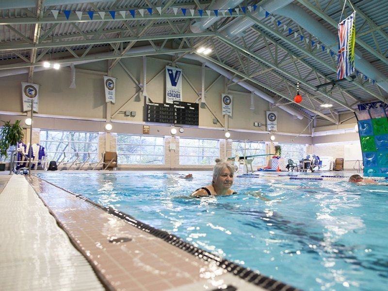 Update Vernon Recreation Centre Reopened After Electrical
