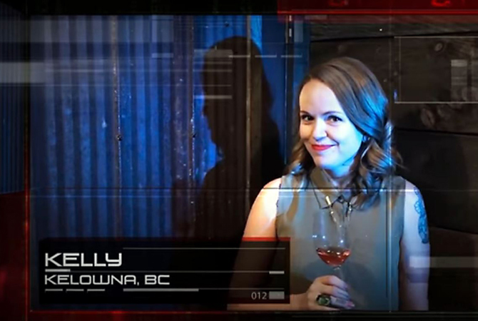 kelly spencer of kelowna is a contestant on the third season of sequester an online reality game show
