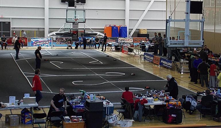 Indoor Remote Control Car Race Series In Kamloops This