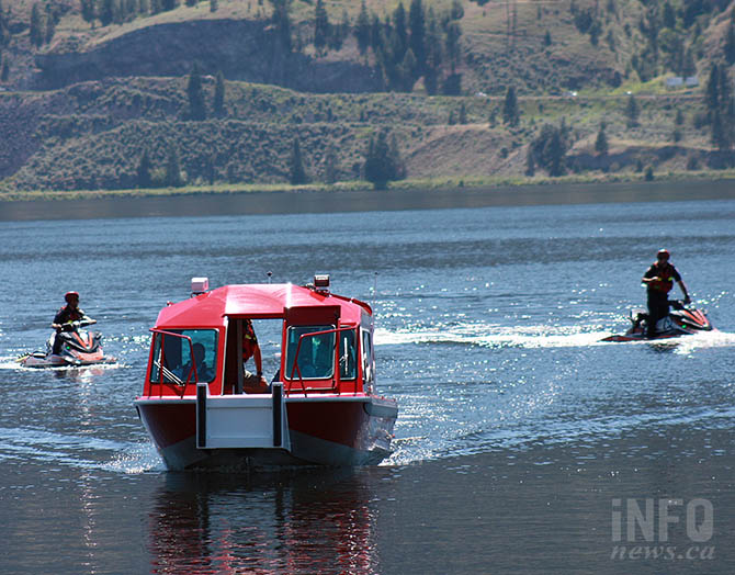 Safety on Okanagan Lake enhanced with launch of new rescue