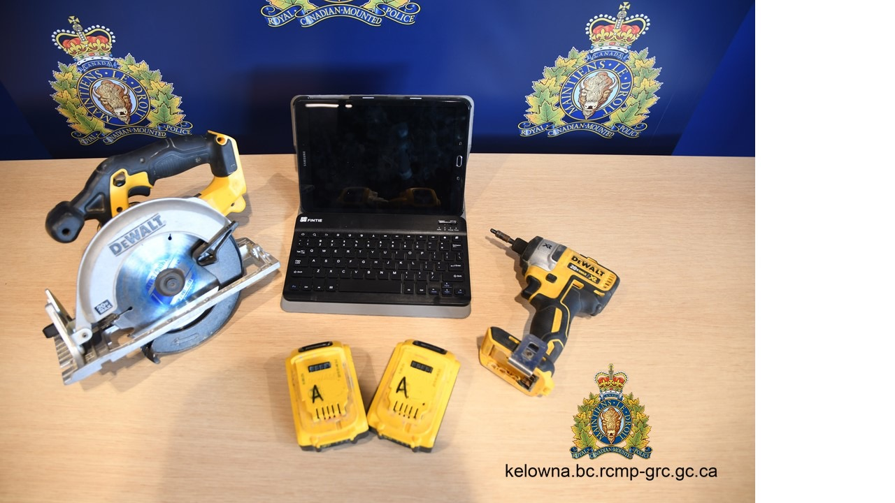 items recovered by the kelowna rcmp - Stuff To Get For Christmas
