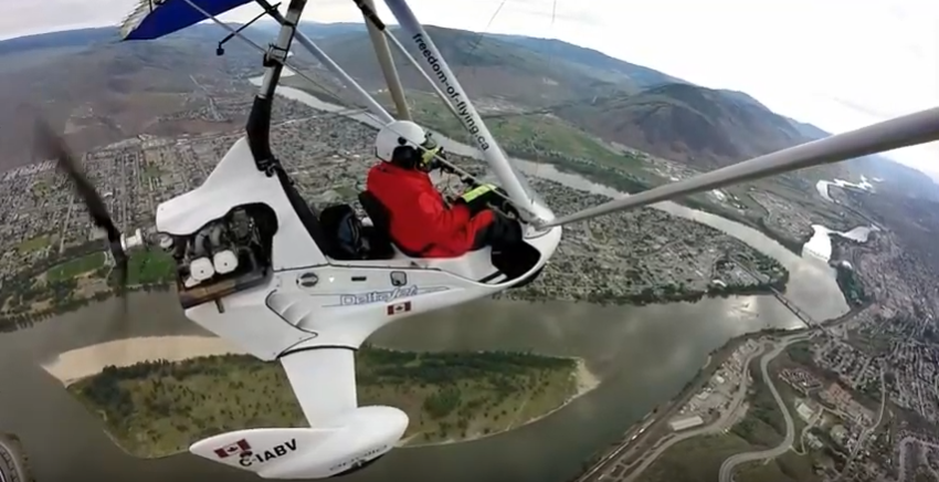 iN VIDEO: Fly high with incredible footage of Kamloops to Falkland